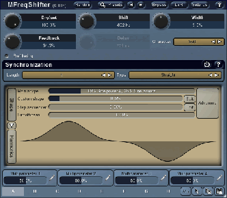 MFreqShifter - frequency shifter vst for download
