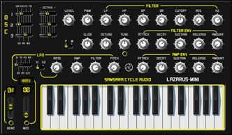 Lazarus-Mini - Download Free Vst Synthesizer