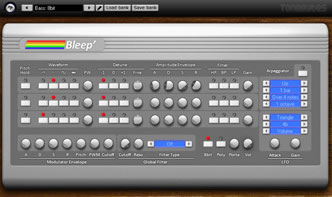 Bleep - VSTi synthesizer