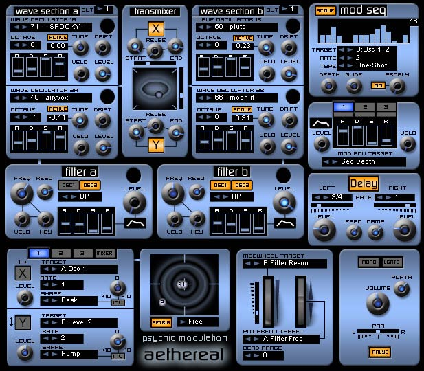110 Free Vst Presets - Aethereal Synth