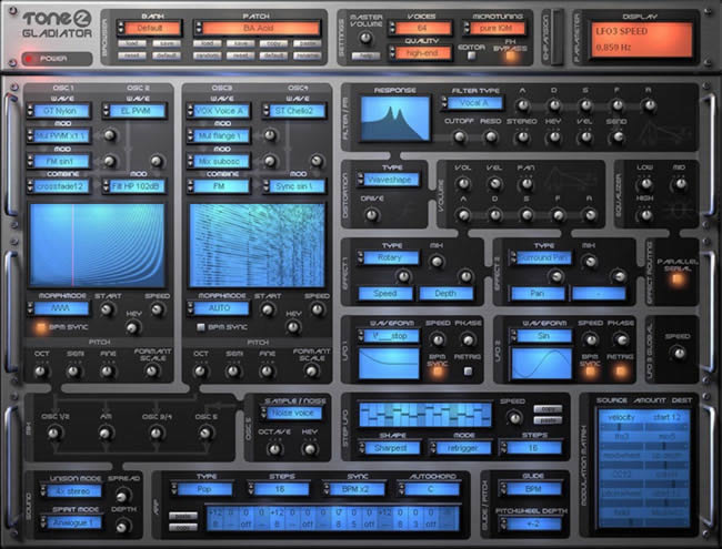 45 Free Vst Presets | Gladiator patches